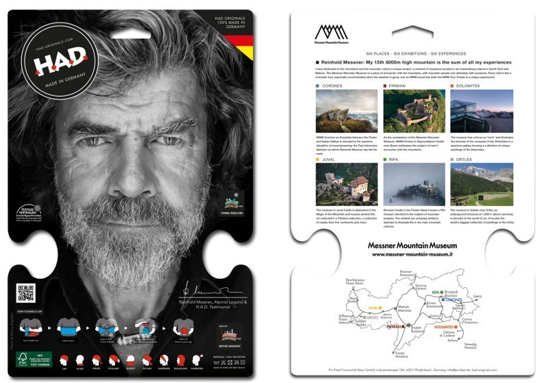 Шалче Printed Fleece H.A.D. Ripa by Reinhold Messner