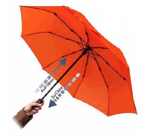 Euroschirm Light Trek Umbrella Custom EUROSCHIRM Light Trek Automatic Silver Umbrella With UV