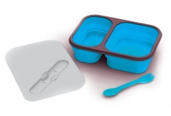 LEXNGO Foldable Lunch Box