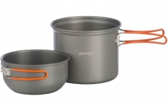 VANGO 1-person Hard anodised Cook Kit
