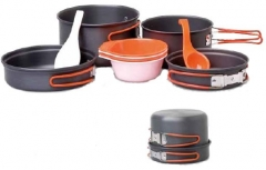 PROVIDUS 4-person Hard anodised Cook Kit