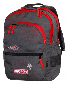 TASHEV ABC Boys Backpack - Red
