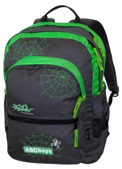 TASHEV ABC Boys Backpack - Green