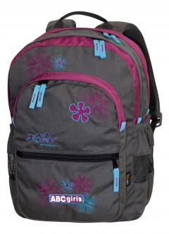 TASHEV ABC Girls Backpack - Lila