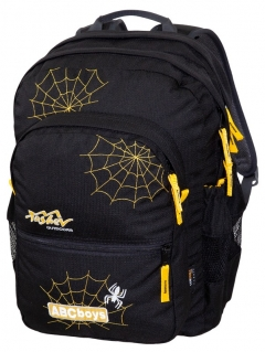 ABC Boys Backpack - Black/Yellow