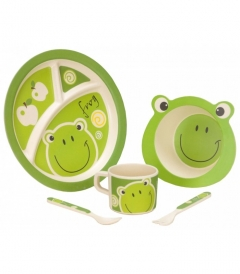 VANGO Kids Frog tableware set