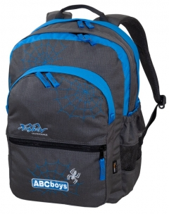 TASHEV ABC Boys Backpack - Skyblue