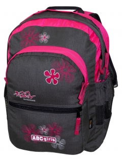 TASHEV ABC Girls Backpack- Cyclama
