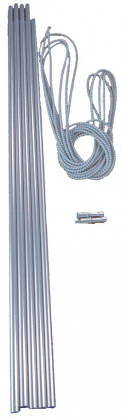 VANGO Alloy pole set 8.5 mm