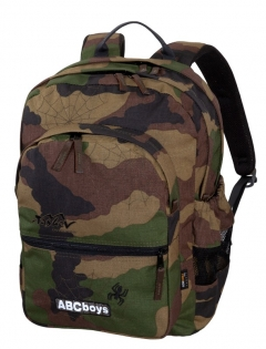 TASHEV ABC Boys Camouflage Backpack