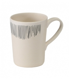 VANGO Bamboo Grey strip 350 ml mug