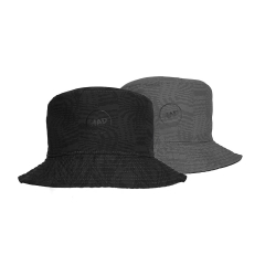 H.A.D. Bucket hat Peak UV50+ Black/grey