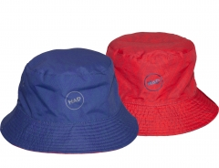 H.A.D. Bucket hat Peak UV50+ Red/blue