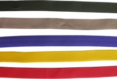 Colored webbing 25 mm